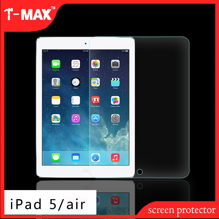 2017 T-max 2.5D eco slim tablet for iPad tablet mobile glass screen protector film For iPad 5/air