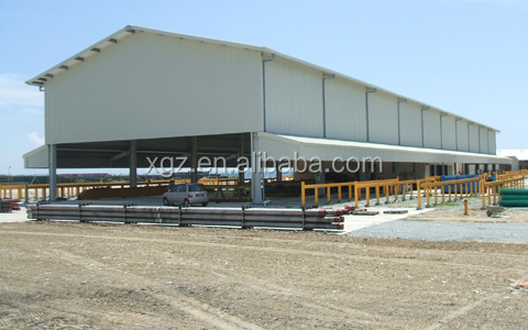 prefab warehouse shed for storing food