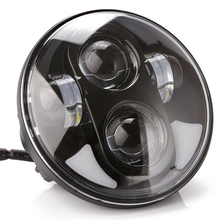 "Motorcycle front 5-3/4"" Led headlight high /low beam for 5.75 inch led motorcycle Harleys headlight"