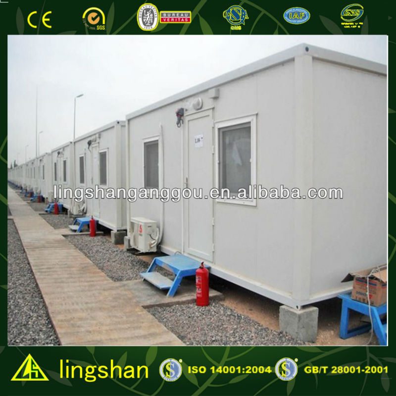 Fast Installation Foldable Container Camp House--ISO9001:2008