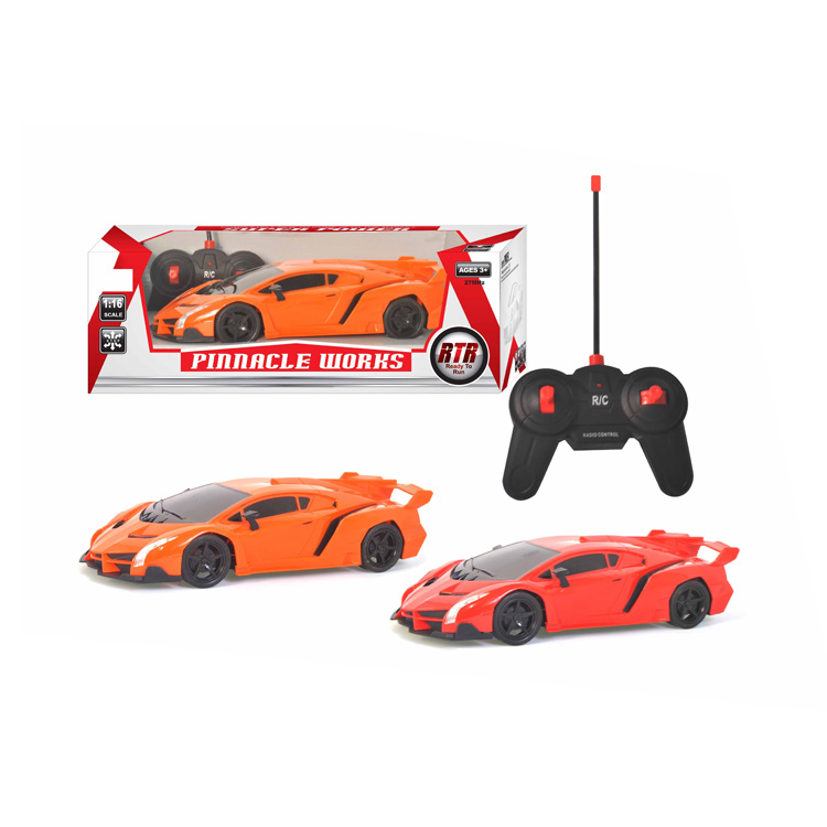 Light 4 Channel R C car Toys Kids 1:16 Remote Control Car Model Toy