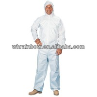 cheap white medical overalls