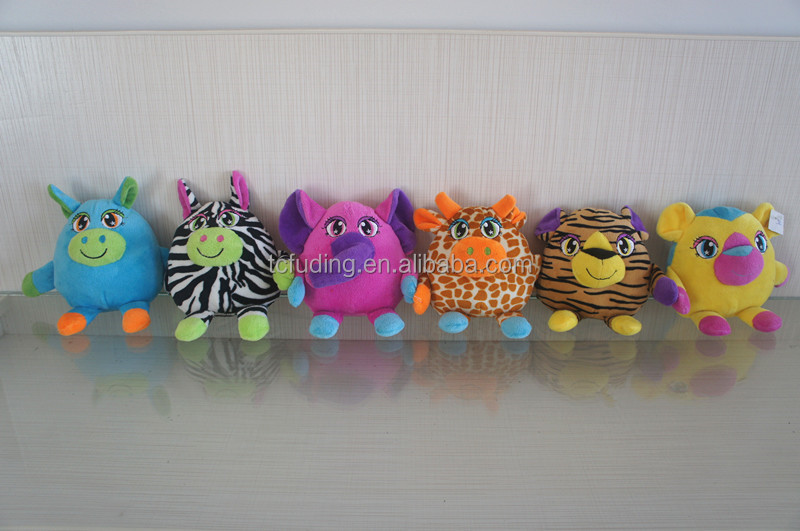 "7"" plush musical toy, stuffed animals electronic toy"