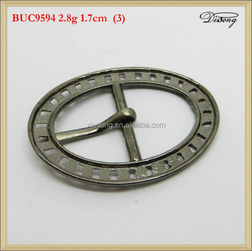 BUC9594 Blank with snake skin lines belt buckle with pewter finish suitable for 4cm wideth snap on belt