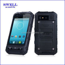 A8 rugged mobile phone cheapest price waterproof phone case Wifi GPS Bluetooth waterproof shockproof smart phone