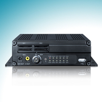 H.264 compression high video quality 4ch mobile dvr