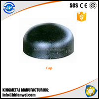 Seamless Butt Welded Cap Carbon Steel Pipe Fittings