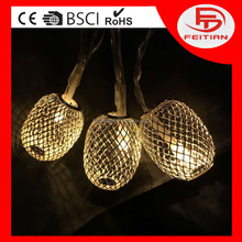 2016 New arrival Factory price LED Christmas light battery controled decorative lights CE Rohs Sedex Walmart