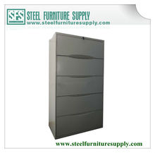 5 drawer lateral file cabinet/office storage cabinet