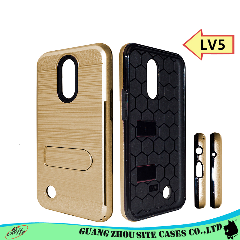 <strong>K10</strong> hybrid mobile phone Case for LG Shockproof cover for LG <strong>k10</strong> 2017 with card holder