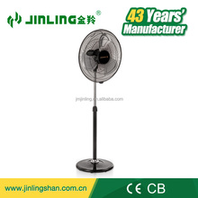 16'' Electric Stand Fan With Round Iron Pedestal