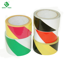 Safety Stripe tape PVC backing rubber adhesive floor marking tape