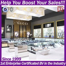 China manufacture of showcase for gold jewelry shop fitting