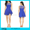 Alibaba clothes wholesale frock design for girl blue colour dress elegant women casual dress