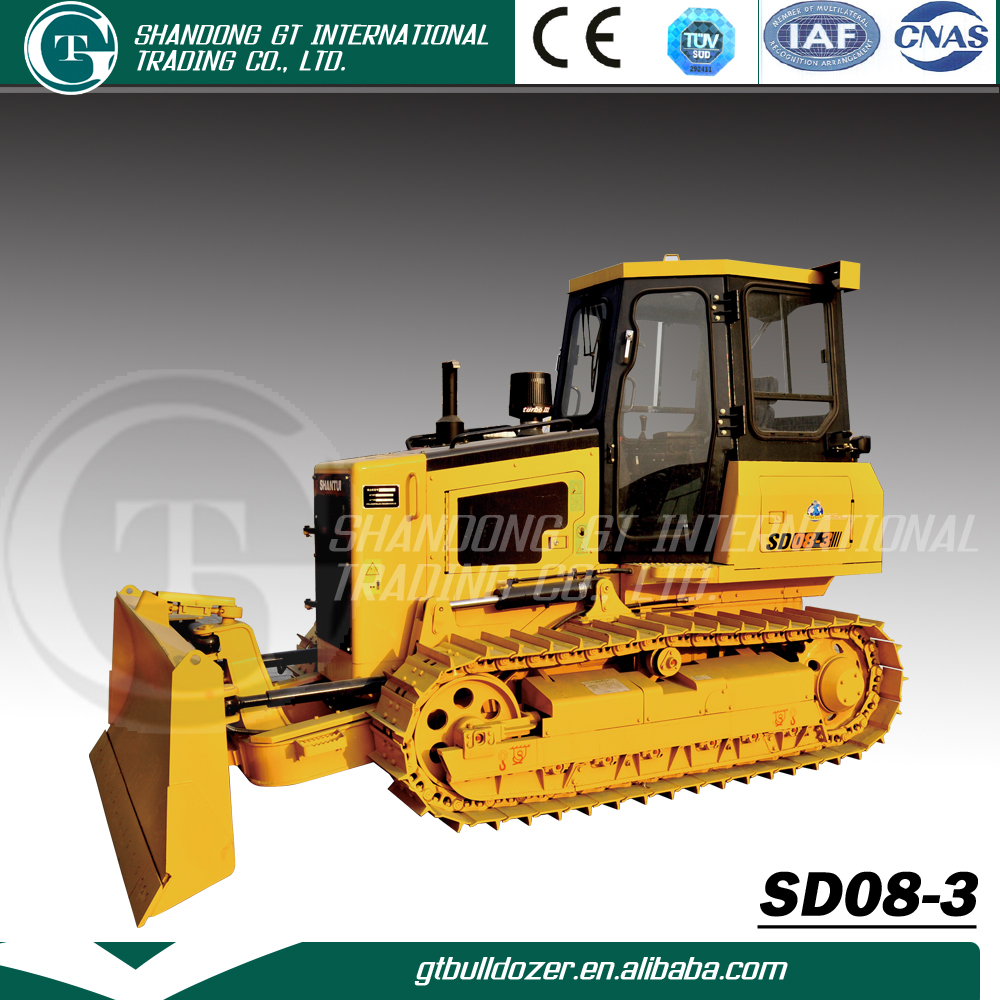 Used crawler Bulldpzer SD08-3 , cheap price bull dozer for sale in shanghai