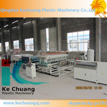 Polypropylene hollow sheet making machine/PP coroplast board extrusion machine/corrugated sheet extruder