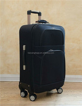 Factory wholesale cheap canvas travel bag trolley luggage 4 wheels travel bag