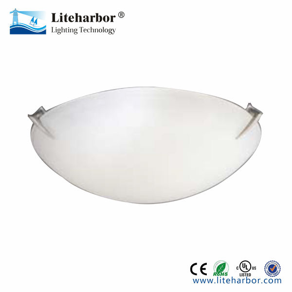 CE listed Mushroom Glass Flush Mount Ceiling Light glass ceiling light covers