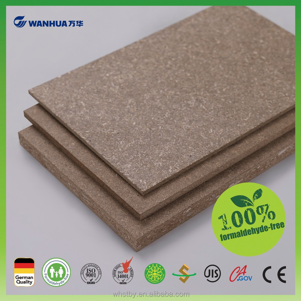 Recyclable& Sustainable furniture grade fibre mdf board laminated