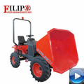 High quality with best price hot sale 4 wheels with hydraulic output work efficiently for garden farm mining new dumper atv