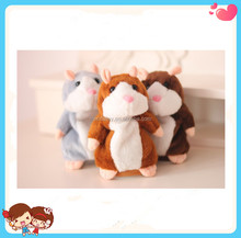 Hot Sale New Design Mimicry Pet Stuffed Plush Electronic Hamster Mouse Talking Toy For Kids
