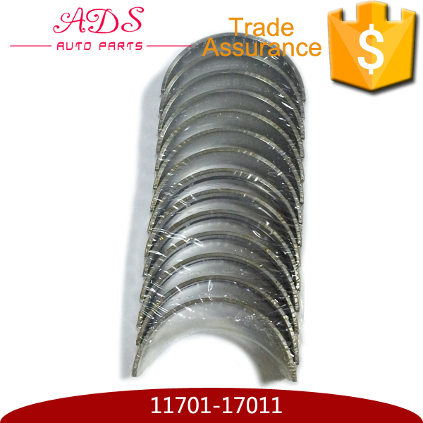 Factory price engine crankshaft bearings for Toyota land cruiser/coaster OEM:11701-17011