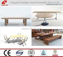 TABLE TOP/COMPACT LAMINATE/PARTITION/