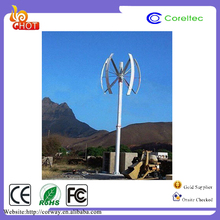 Home use 3kw VAWT maglev vertical wind turbines