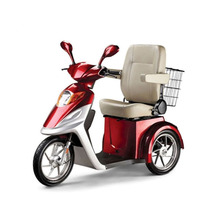 High Speed Vespa Electric Scooter Tricycle