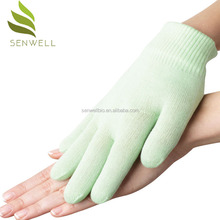 Best Price supplier private label VE Moisture Cooling spa gel gloves