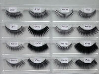 Soft Handmade Eyelashes 100% Human Hair Eyelashes