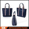 Custom Made PU Leather Golf Tote Bags/Handbags