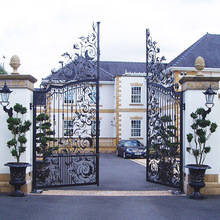 wrought iron gate for home, iron gate design catalog