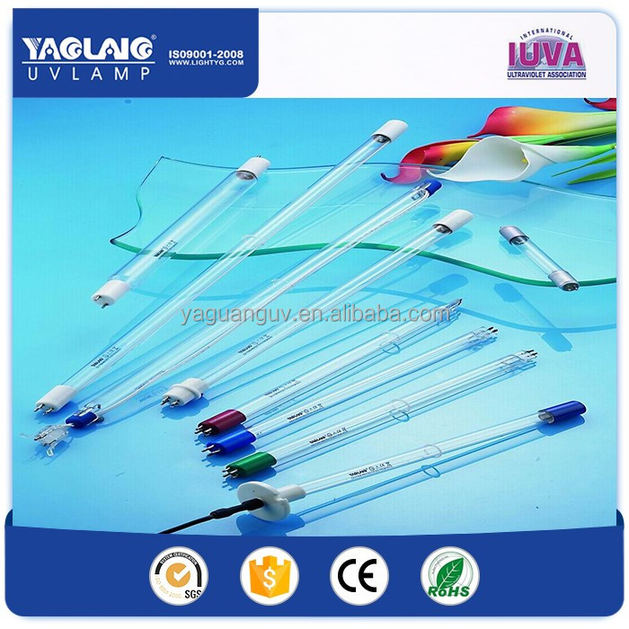 48 watt High power High Output germicidal ultraviolet lamps for waste sterilize or water sterilize or sewage treatment