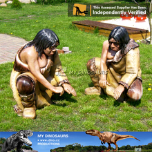 MY Dino-C048 Life size fiberglass apes for outdoor decoration
