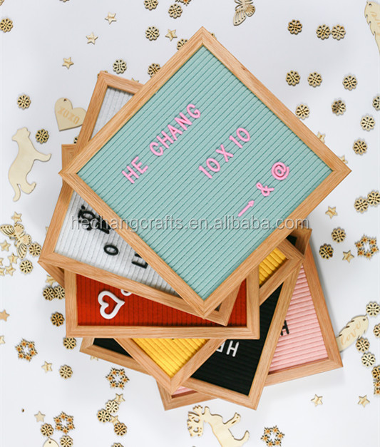 10x10'' changeable Felt Display Letter Boards
