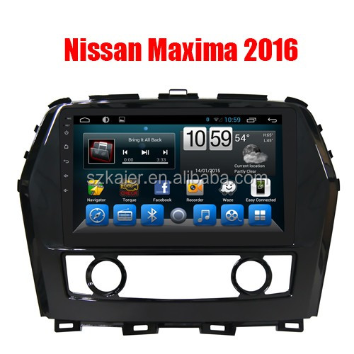 CN Factory Price Wholesale Android 6.0 Car GPS Radio multimedia for Nissan Maxima 2016 with Mirror link Igo Wifi GPS tracker