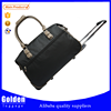 Men's business foldable travel trolley bag big capacity two handle rolling duffel bag for luggage wholesaler