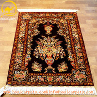 2.5x4ft turkish silk rug muslim Islamic handmade persian prayer silk rug