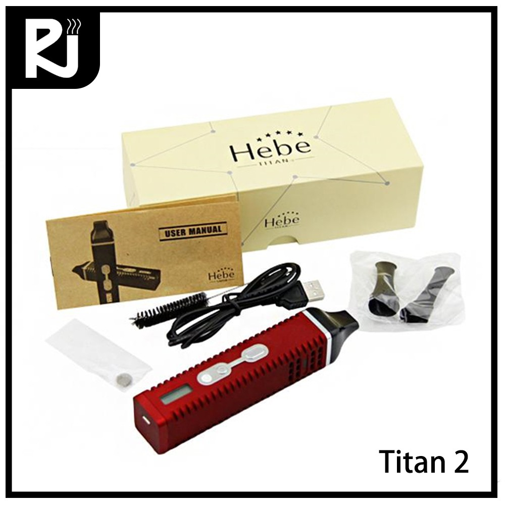 New manufacture product titan 2 dry herb pen vaporizer cartridge e cigarette