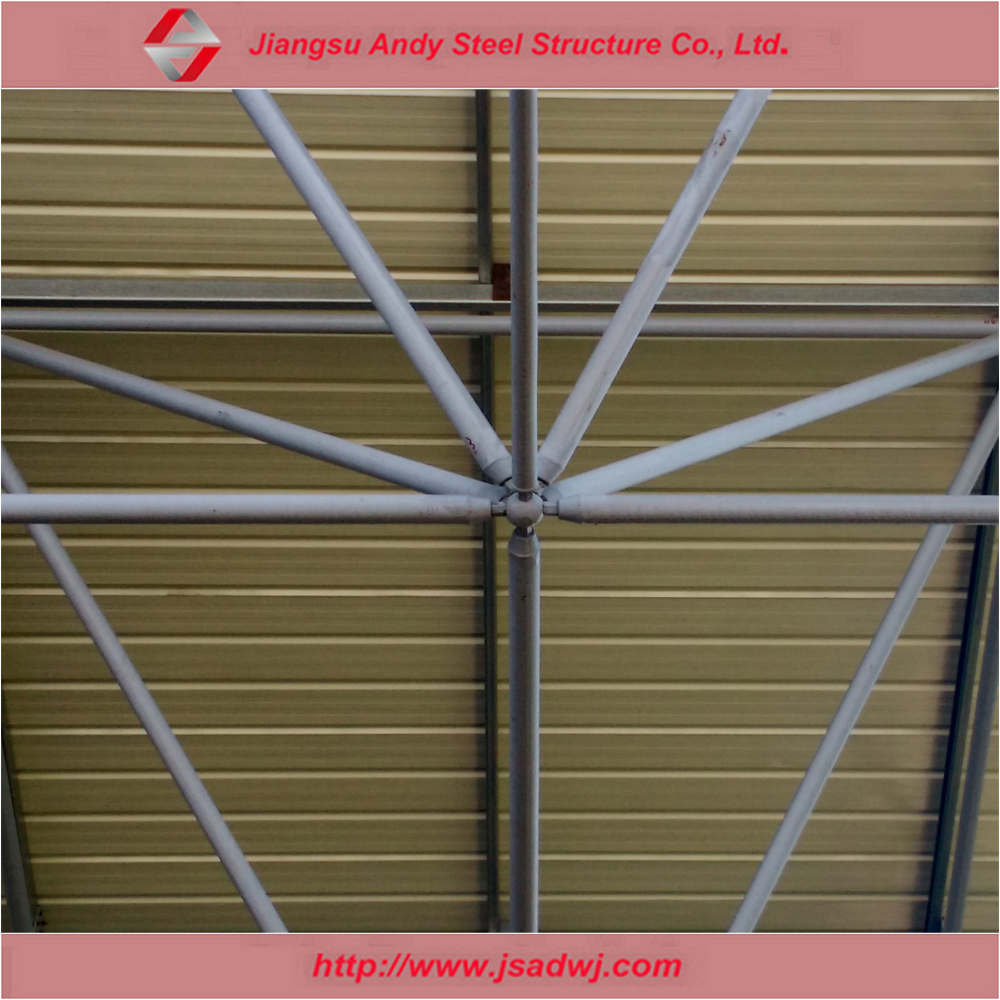 Pre engineered commercial buildings prefab metal roof system