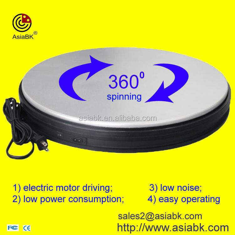 shenzhen factory products exhibition 360 swivel <strong>stage</strong>