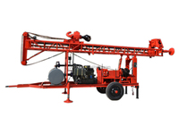 High reliability easy operation portable water well drilling equipment