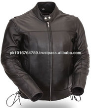 Men Classic Leather Motorcycle Jackets