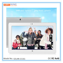 11.6 inch HD Full View Win8.1 Intel inside 2G+64G Tablet PC with 5MP/2MP HD camera