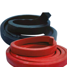 Expandable swelling rubber water stop strip