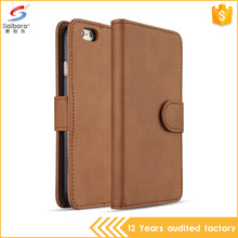 Wholesale high quality flip leather phone cover case for iphone 5 6 6s 6plus 7 7plus,for samsung a8 s8 case