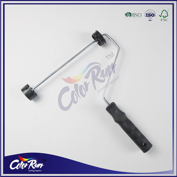 ColorRun 9-inch Paint Roller Frame Simple Style Wall Paint Roller Brush Handle
