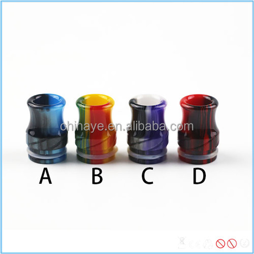 Goon528/TFV8/Kennedy atomizer universial resin drip tip wine bottles shape e-cigarette drip tip