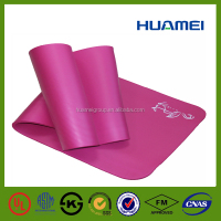 Excursion NBR rubber foam yoga mat closed cell sports mat thickness exercise mat